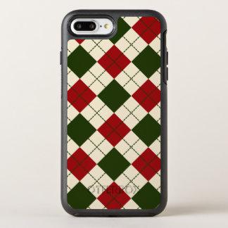 Coque OtterBox Symmetry iPhone 8 Plus/7 Plus Cas à motifs de losanges élégant de téléphone du