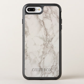 Coque OtterBox Symmetry iPhone 8 Plus/7 Plus Cas plus de l'iPhone 7 en pierre de marbre de