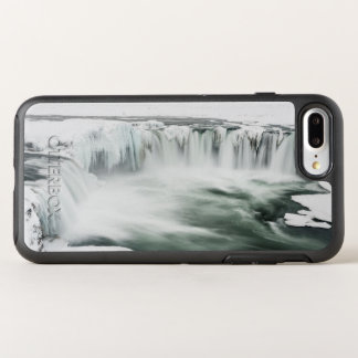 Coque OtterBox Symmetry iPhone 8 Plus/7 Plus Cascade de Godafoss, hiver, Islande