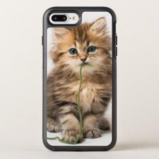 Coque OtterBox Symmetry iPhone 8 Plus/7 Plus Chaton avec le fil vert