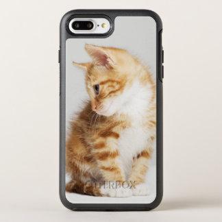 Coque OtterBox Symmetry iPhone 8 Plus/7 Plus Chaton de gingembre