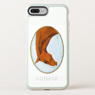 Coque OtterBox Symmetry iPhone 8 Plus/7 Plus Cheval quart