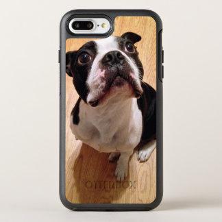 Coque OtterBox Symmetry iPhone 8 Plus/7 Plus Chien de Boston Terrier