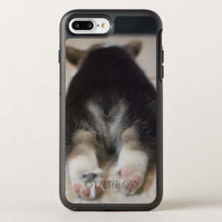 Coque OtterBox Symmetry iPhone 8 Plus/7 Plus Chiot 2 de corgi de Gallois de Pembroke