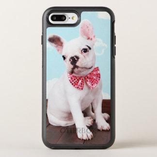 Coque OtterBox Symmetry iPhone 8 Plus/7 Plus Chiot de bouledogue français (bébé de 7 mois) avec