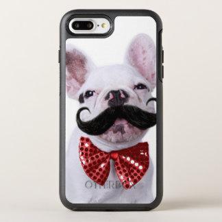 Coque OtterBox Symmetry iPhone 8 Plus/7 Plus Chiot de chien de Taureau de Français avec la