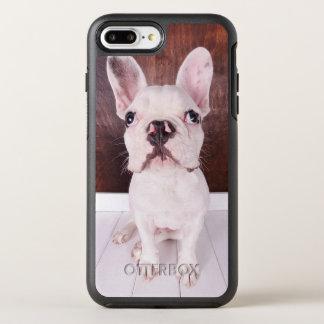 Coque OtterBox Symmetry iPhone 8 Plus/7 Plus Chiot doux de bouledogue français