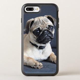 Coque OtterBox Symmetry iPhone 8 Plus/7 Plus Chiot sur le divan Lounging