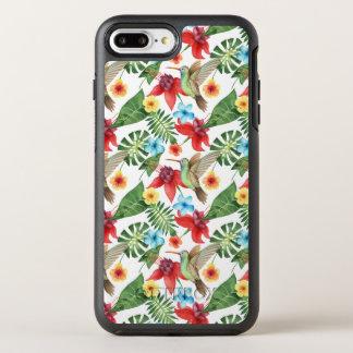 Coque OtterBox Symmetry iPhone 8 Plus/7 Plus Colibri tropical