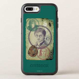 Coque OtterBox Symmetry iPhone 8 Plus/7 Plus Collage 9 de Harry Potter