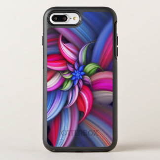 Coque OtterBox Symmetry iPhone 8 Plus/7 Plus Conception colorée de remous