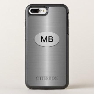 Coque OtterBox Symmetry iPhone 8 Plus/7 Plus Conception de monogramme des affaires des hommes