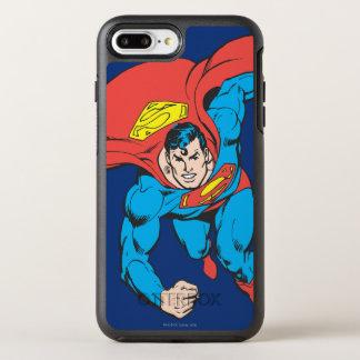 Coque OtterBox Symmetry iPhone 8 Plus/7 Plus Courses de Superman en avant