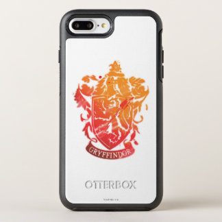Coque OtterBox Symmetry iPhone 8 Plus/7 Plus Crête de Gryffindor - éclaboussée