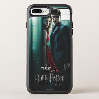 Coque OtterBox Symmetry iPhone 8 Plus/7 Plus De mort sanctifie - Harry et Hermione