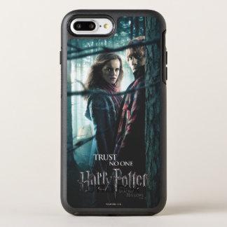 Coque OtterBox Symmetry iPhone 8 Plus/7 Plus De mort sanctifie - Hermione et Ron