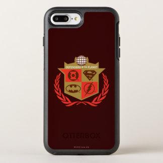 Coque OtterBox Symmetry iPhone 8 Plus/7 Plus Défenseurs de ligue de justice de la planète