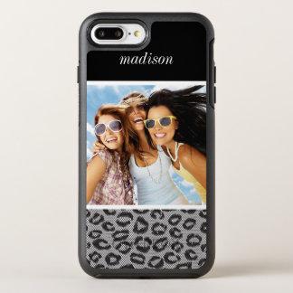 Coque OtterBox Symmetry iPhone 8 Plus/7 Plus Dentelle de photo et de nom avec le motif de