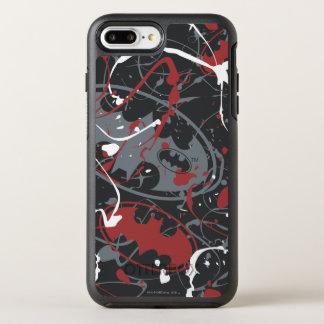 Coque OtterBox Symmetry iPhone 8 Plus/7 Plus Des légendes urbaines de Batman - peignez le motif