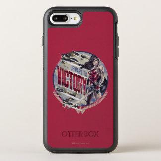 Coque OtterBox Symmetry iPhone 8 Plus/7 Plus Femme de merveille vers le haut à la victoire