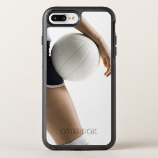 Coque OtterBox Symmetry iPhone 8 Plus/7 Plus femme jouant au volleyball