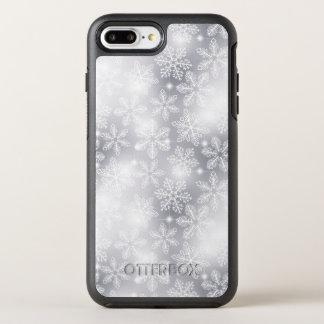 Coque OtterBox Symmetry iPhone 8 Plus/7 Plus Flocons de neige et lumières
