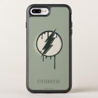 Coque OtterBox Symmetry iPhone 8 Plus/7 Plus Grunge instantanée de peinture de boulon