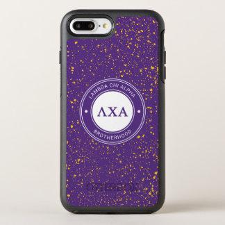 Coque OtterBox Symmetry iPhone 8 Plus/7 Plus Insigne de l'alpha | de Chi de lambda