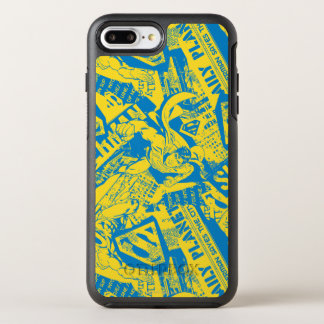 Coque OtterBox Symmetry iPhone 8 Plus/7 Plus Jaune et bleu de Superman