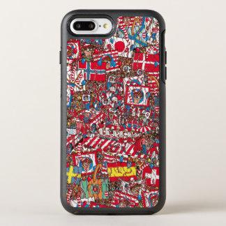 Coque OtterBox Symmetry iPhone 8 Plus/7 Plus Là où est Waldo énorme Party