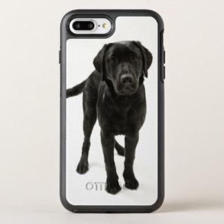 Coque OtterBox Symmetry iPhone 8 Plus/7 Plus Labrador retriever noir