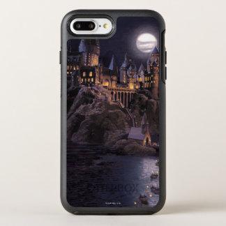 Coque OtterBox Symmetry iPhone 8 Plus/7 Plus Lac castle   de Harry Potter grand à Hogwarts