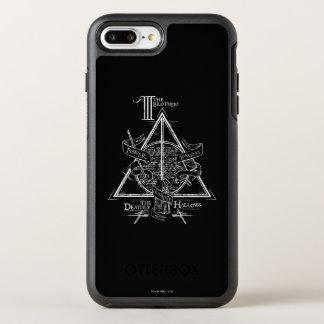 Coque OtterBox Symmetry iPhone 8 Plus/7 Plus Le charme | de Harry Potter DE MORT SANCTIFIE le