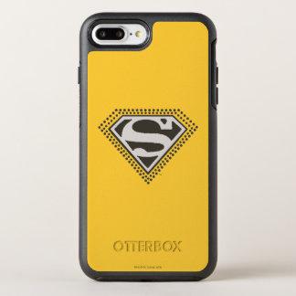 Coque OtterBox Symmetry iPhone 8 Plus/7 Plus Le S-Bouclier   de Superman c'est Showtime ! Logo