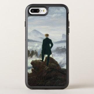 Coque OtterBox Symmetry iPhone 8 Plus/7 Plus Le vagabond au-dessus de la mer du brouillard,