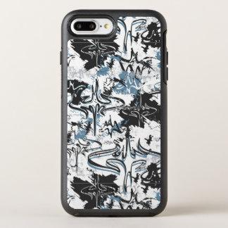 Coque OtterBox Symmetry iPhone 8 Plus/7 Plus Légendes urbaines de Batman - motif de batte de
