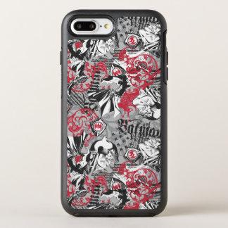Coque OtterBox Symmetry iPhone 8 Plus/7 Plus Légendes urbaines de Batman - motif principal