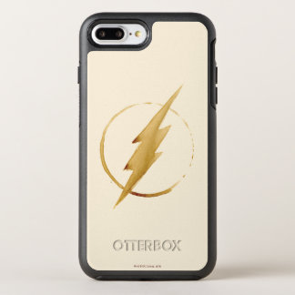 Coque OtterBox Symmetry iPhone 8 Plus/7 Plus L'emblème   jaune instantané de coffre