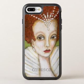 Coque OtterBox Symmetry iPhone 8 Plus/7 Plus Les cheveux rouges de peinture d'Elizabeth I