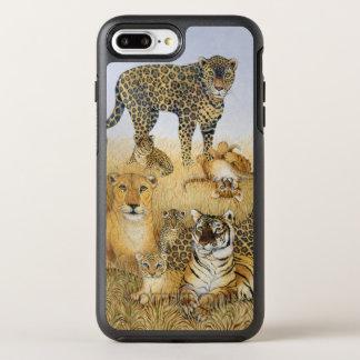 Coque OtterBox Symmetry iPhone 8 Plus/7 Plus Les grands chats