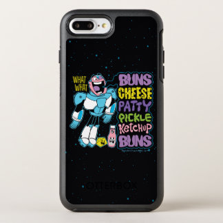 Coque OtterBox Symmetry iPhone 8 Plus/7 Plus Les titans de l'adolescence vont ! coup sec et dur