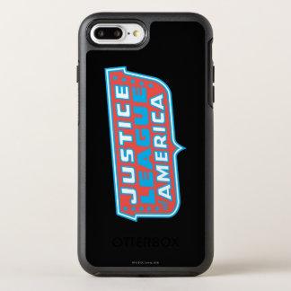 Coque OtterBox Symmetry iPhone 8 Plus/7 Plus Ligue de justice de logo de l'Amérique