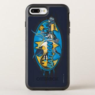 Coque OtterBox Symmetry iPhone 8 Plus/7 Plus Logo classique de collage du symbole | de Batman