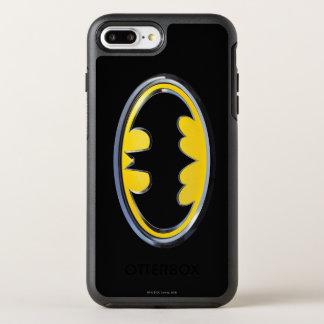 Coque OtterBox Symmetry iPhone 8 Plus/7 Plus Logo classique du symbole | de Batman
