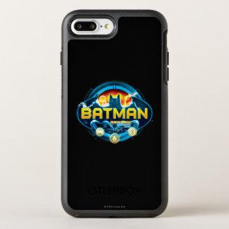 Coque OtterBox Symmetry iPhone 8 Plus/7 Plus Logo de Batman avec des icônes