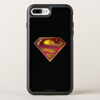 Coque OtterBox Symmetry iPhone 8 Plus/7 Plus Logo de réflexion du S-Bouclier | de Superman