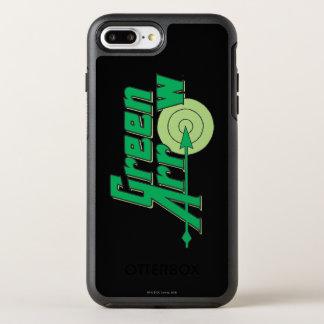 Coque OtterBox Symmetry iPhone 8 Plus/7 Plus Logo vert de flèche