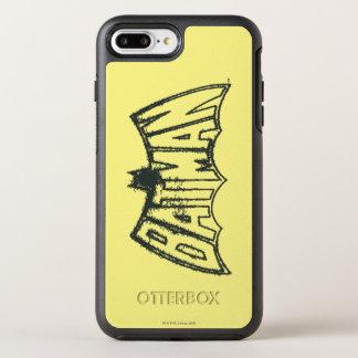 Coque OtterBox Symmetry iPhone 8 Plus/7 Plus Logo vintage de symbole de Batman |