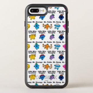 Coque OtterBox Symmetry iPhone 8 Plus/7 Plus M. Men et petits noms de caractère de la Mlle |