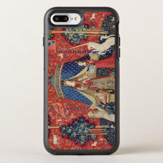"""Coque OtterBox Symmetry iPhone 8 Plus/7 Plus Madame et la licorne : """"À mon seulement desire"""